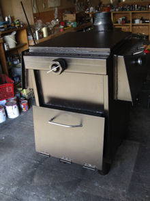 Click here for more information on Mike Camp's wood stove designs
