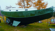 Click here for more on Mike's steel sail boat designs.